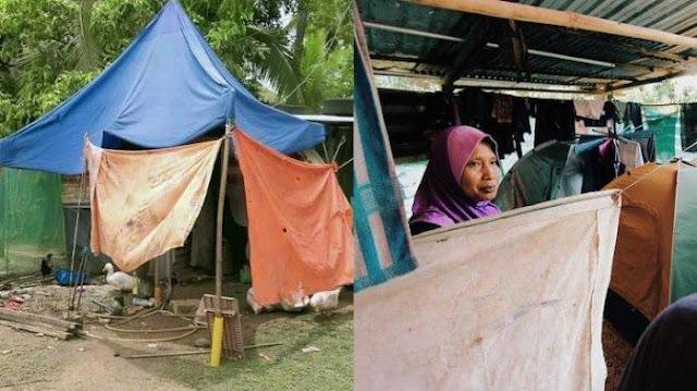 Rumah milik Radzuan (Borak Daily)