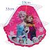 Frozen Design Kids Hijab Magenta and Blue