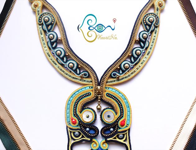 【Papilio Zipper】 2014年の作品|ソウタシエ刺繍作家 KaoriNa.