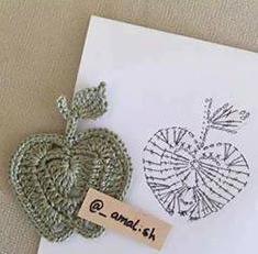 Patrón #1804: Figuras a Crochet -D