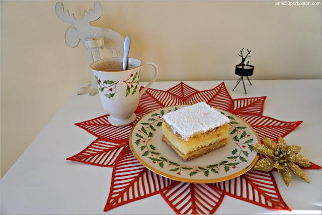 Pastel de Hojaldre y Crema de Modern Pastry