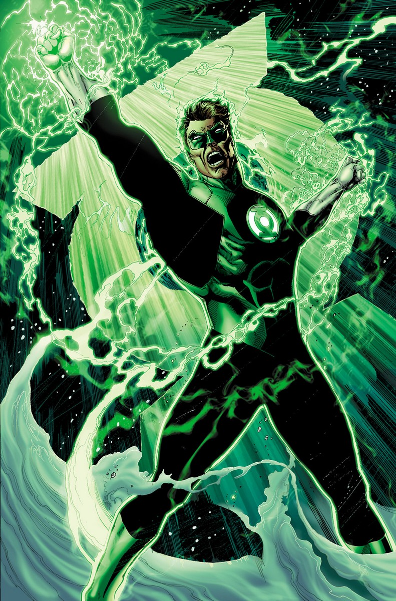 Weird Science DC Comics: FIRST LOOK: Hal Jordan and The ...