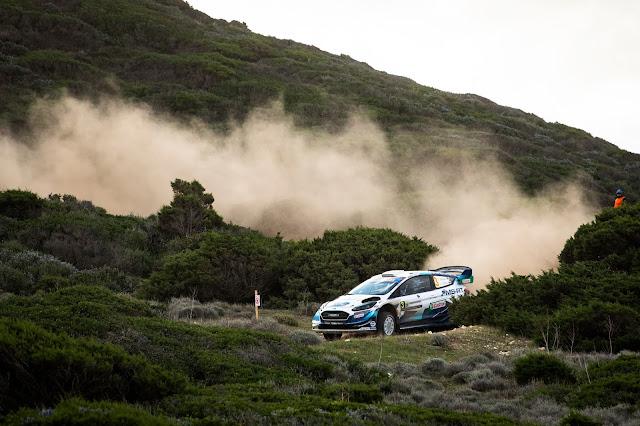 Ford Fiesta World Rally Car