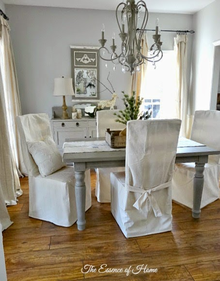 Coolly Modern Formal Dining Room Sets To Consider Getting: The Essence Of Home: New Dining Room Slipcovers