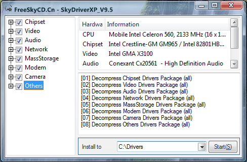 Free download intel video drivers for windows xp.