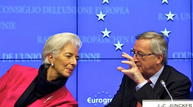 Los jefes del FMI y la Comisión Europea ganan más de 1,25 millones al año