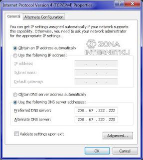 Cara Mempercepat Koneksi Internet Melalui DNS Server 2