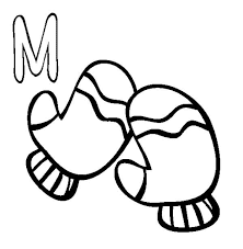 Letter M Coloring Page 9