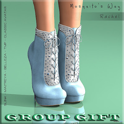 Rachel Boots Group Gift ................. Mosquito's Way