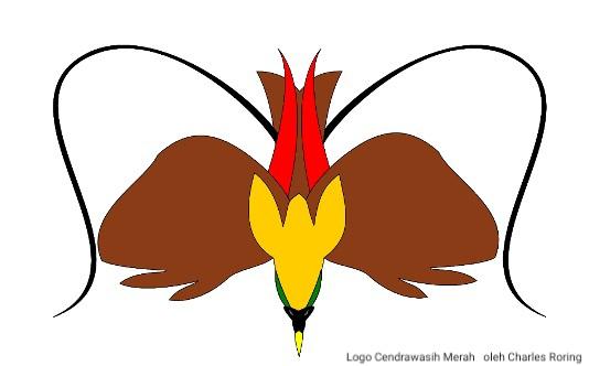 Logo Cendrawasih Merah
