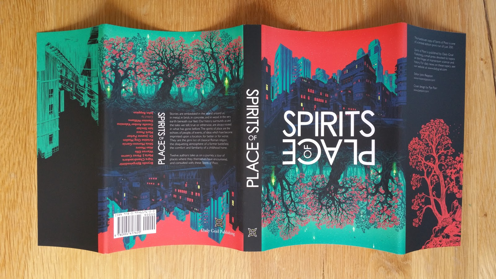 My Absolute Collection Spirits Of Place Text Anthology Signed - Jerusalem absolute location