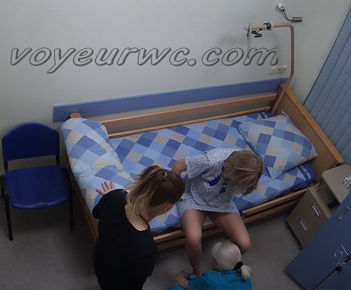 Hidden camera in the hospital's women's wards (Women's Hospital wards 06-07)
