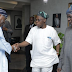 Atiku Visits Obasanjo At Home (Photo)