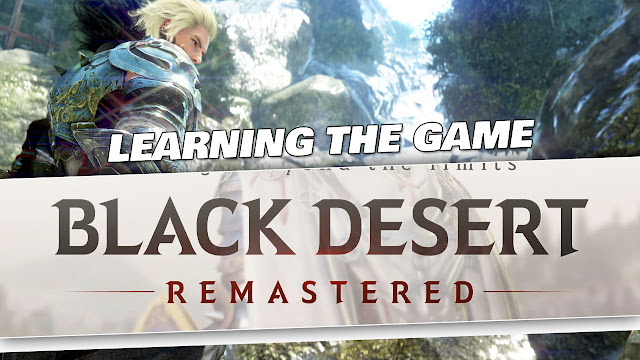 Black Desert Gameplay by Kabalyero! Tutorial and Learning the Game!