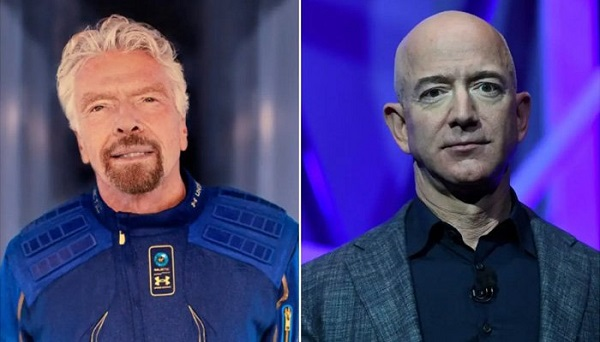 The United States refuses to recognize the two billionaire astronauts as astronauts