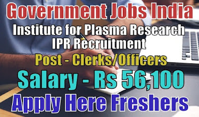 IPR Recruitment 2019
