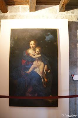 Madonna con bambino di Cavarozzi di Viterbo