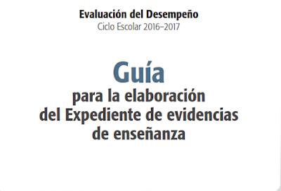 Evaluación del Desempeño Docente. 2016-2017  Guías Académicas Docentes