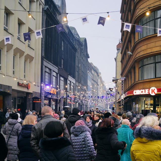capital r, kalķu iela street, riga, tourism, 2020