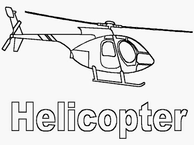 apache helicopter coloring pages
