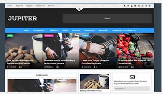 Jupiter  news Blogger Templates 2020