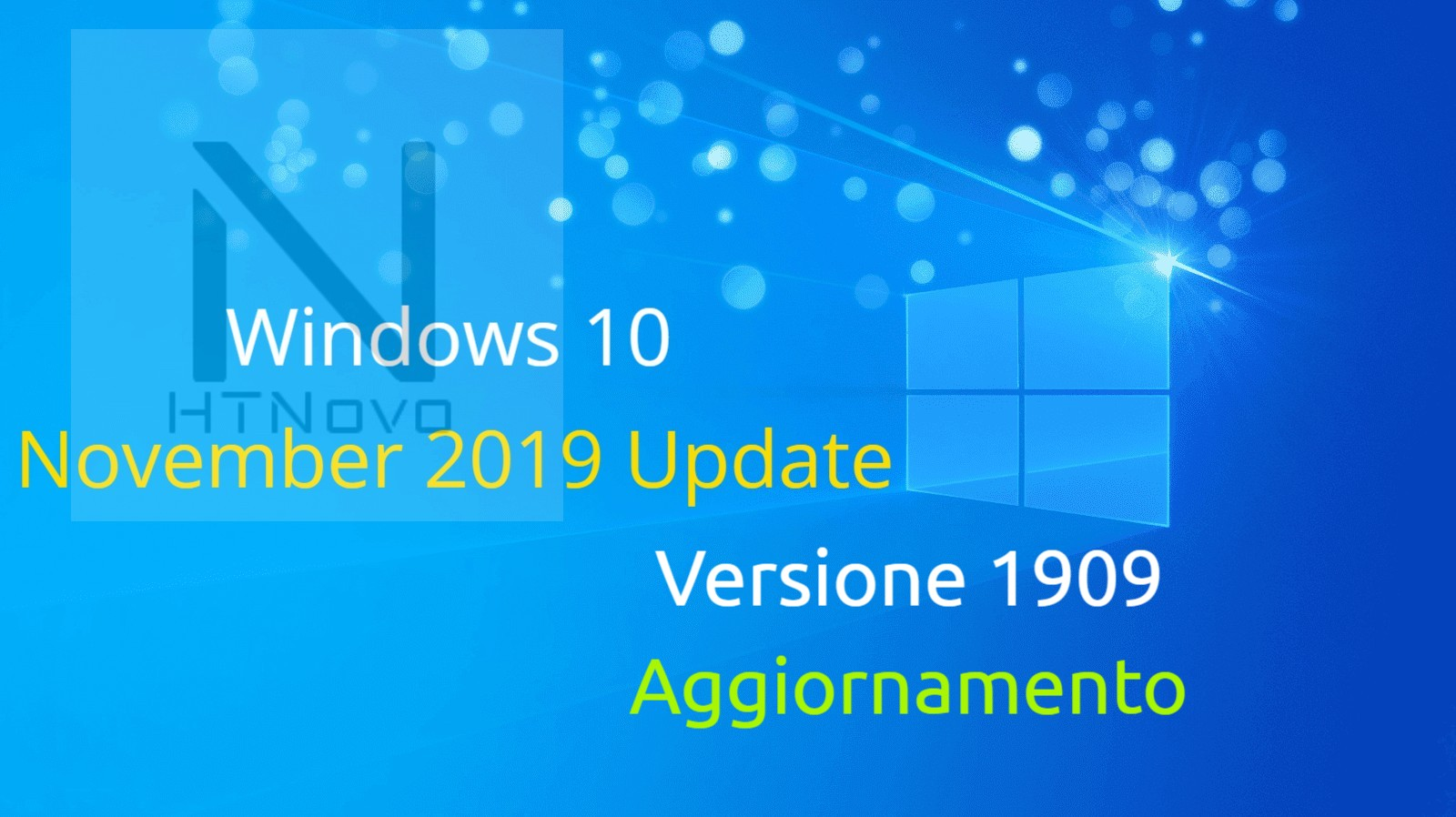 Aggiornamento cumulativo per Windows 10 Versione 1909 - Build 18363.