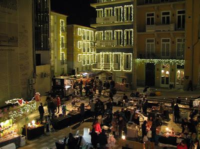 feirinha de Natal no Porto