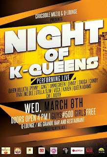 Night of K-Queens (8th March 2016) + Event Jingle