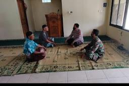Anjangsana Babinsa Kodim Klaten, Himbau Tokoh Agama Wonosari Bantu Serukan Protokoler Kesehatan Covid 19