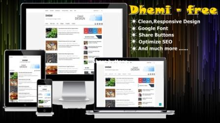 Dhemi Template Free 2017