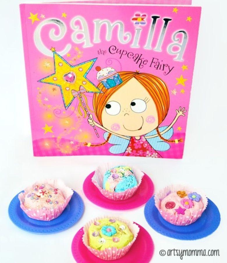 indoor activities for kids - playdough cupcakes