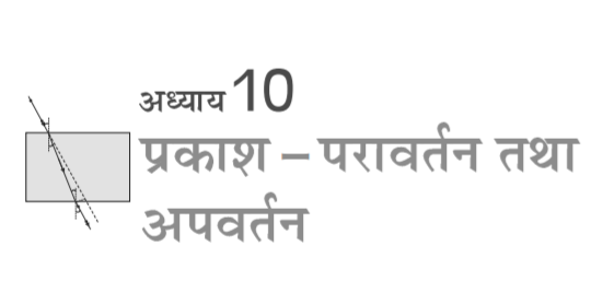 ncert solutions for class 10 science chapter 10 परावर्तन तथा अपवर्तन