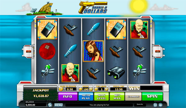 Main Gratis Slot Indonesia - Double O Dollars Habanero