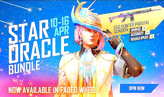 How to get Free Fire new Star Oracle Bundle from Faded Wheel