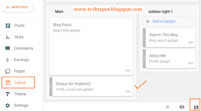 Add Disqus Comment Box in Blogger blog 9