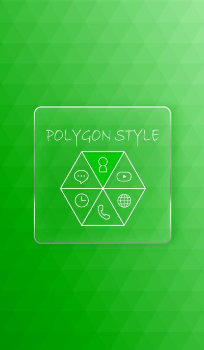 POLYGON STYLE - GREEN -