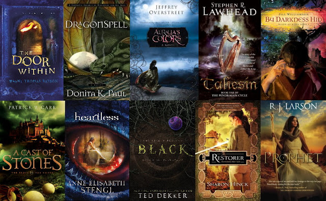 The Artist Librarian's Christian Fantasy 101 Top Ten Booklist
