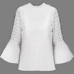 longsleeves blouse in spanish