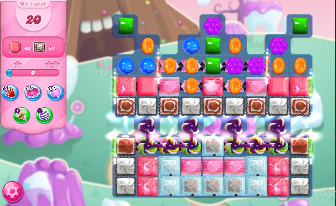 Candy Crush Saga level 6772