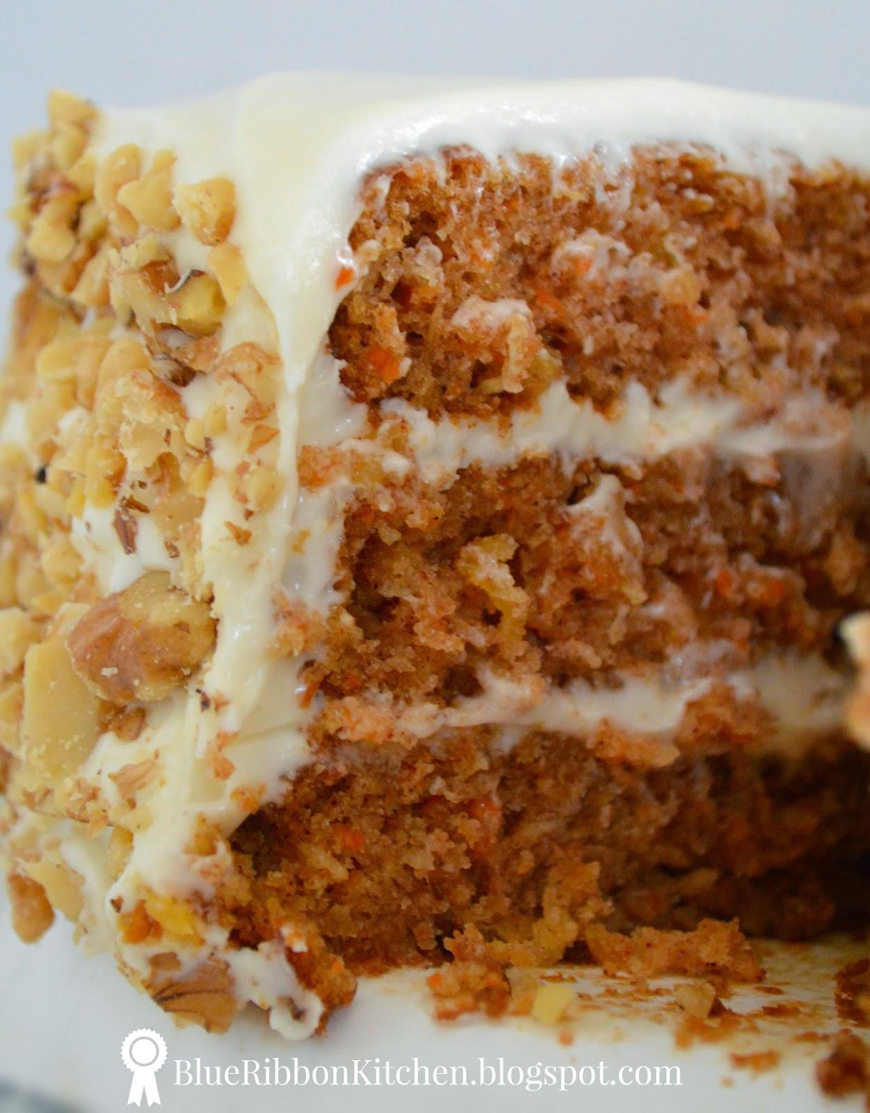 Blue Ribbon Carrot Cake Recipe