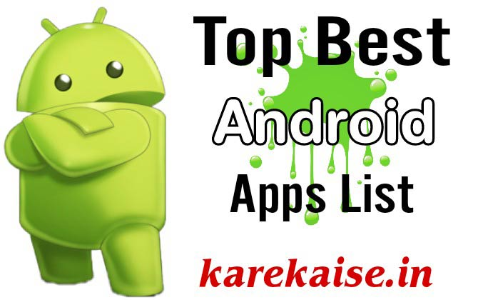 Top Best Android Mobile apps 2018