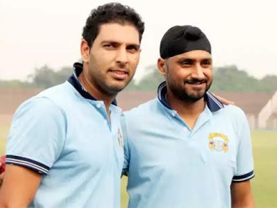 Harbajan Singh & Yuvaraj Singh