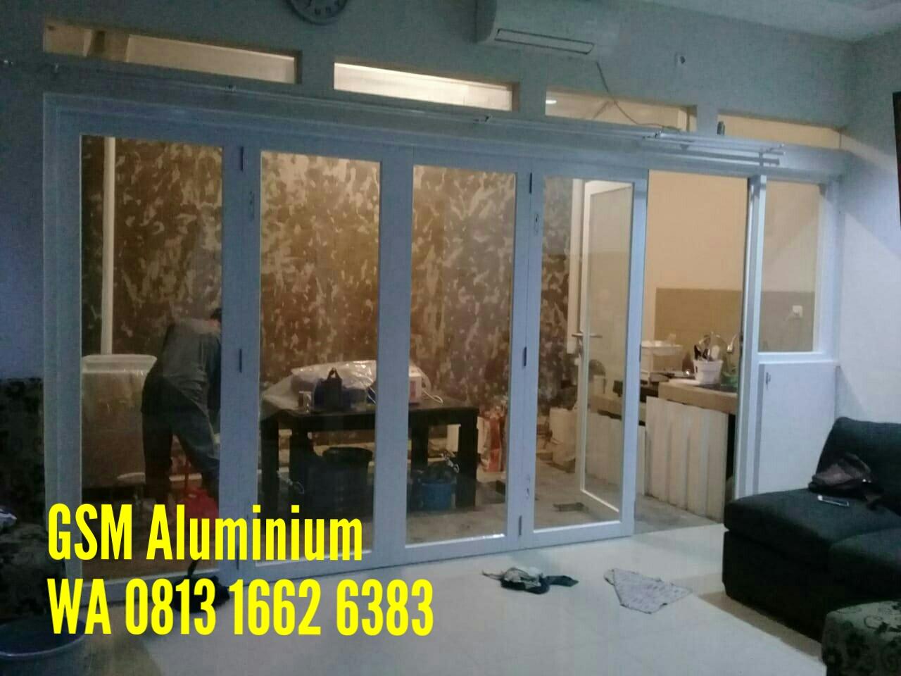 KUSEN ALUMINIUM GARUDA: Harga Pintu Lipat Aluminium Kaca ...