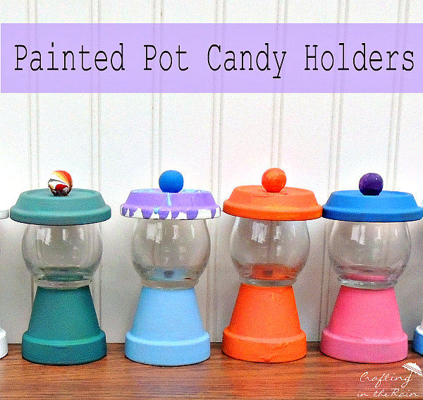 pot candy holders