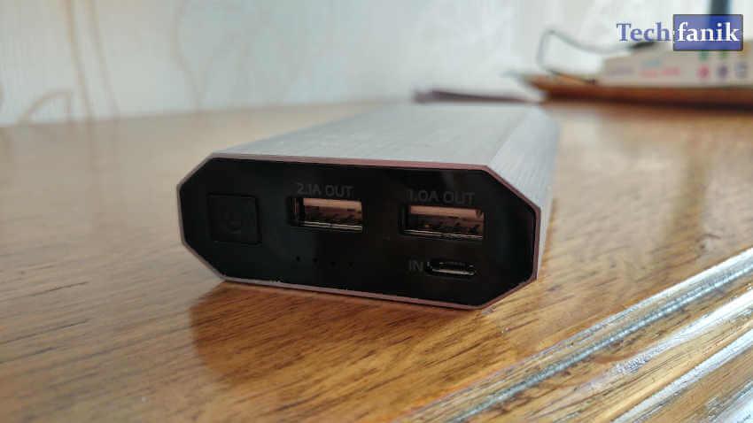Adata Power Bank Złącze USB
