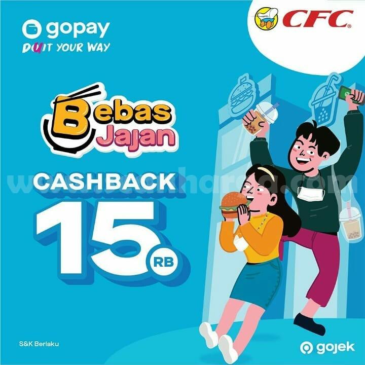 CFC Promo GOPAY! CASHBACK Rp 15.000
