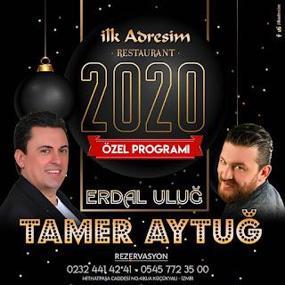 İlk Adresim Restaurant İzmir Yılbaşı Programı 2020 Menüsü