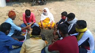 साईनाथ महादेव मंदिर में राष्ट्रकल्याण व कोरोना से मुक्ति पाने के लिए किया हवन | #NayaSabera