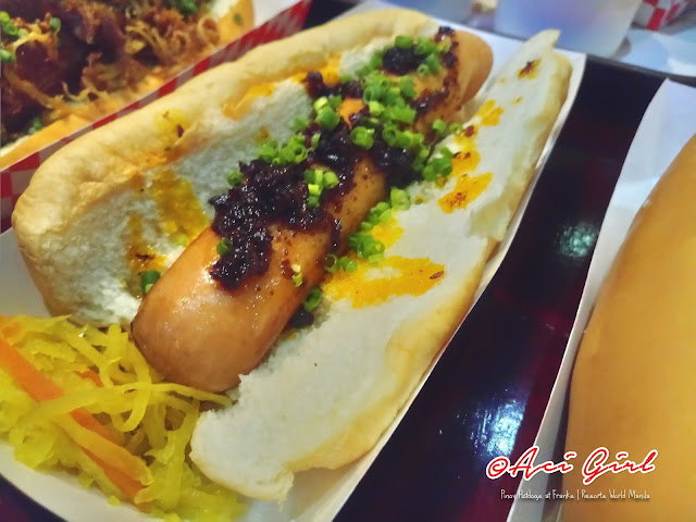 Gourmet Pinoy Hotdogs at Franks | Chicken Inasal