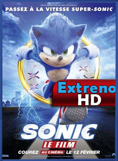 Sonic the Hedgehog (Sonic, la película) (2020) | DVDRip Latino HD GoogleDrive 1 Link